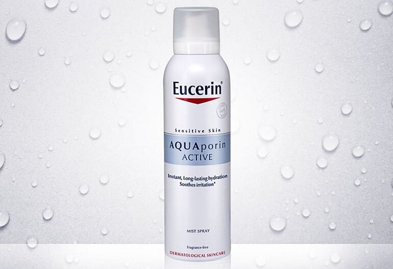 Xịt khoáng Eucerin Aquaporin Active Mist Spray