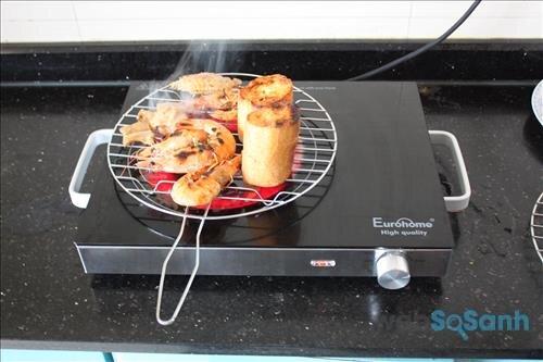 Cách dùng bếp hồng ngoại để nướng thịt