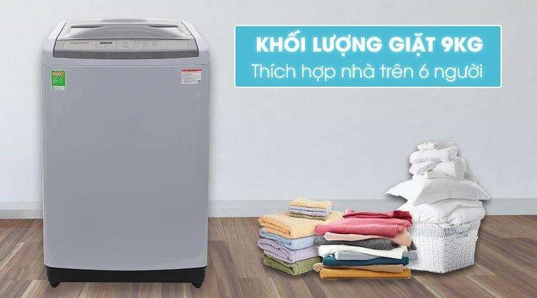 Máy giặt Samsung WA90M5120SG 9kg cửa trên