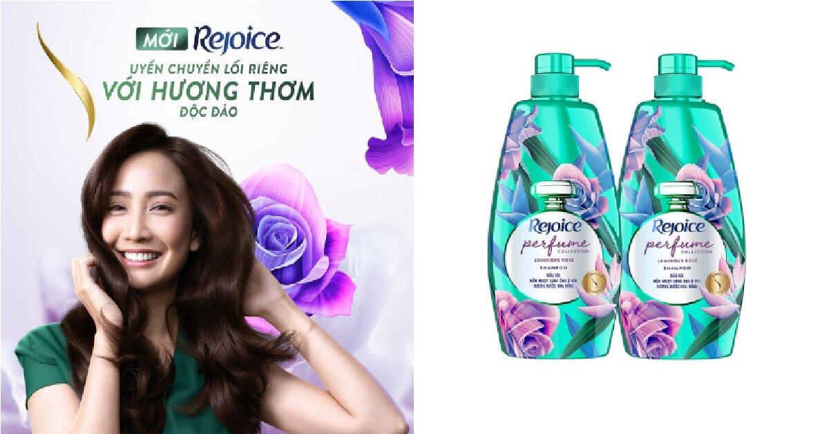 Top 3 dầu gội Rejoice hương nước hoa đáng sắm nhất