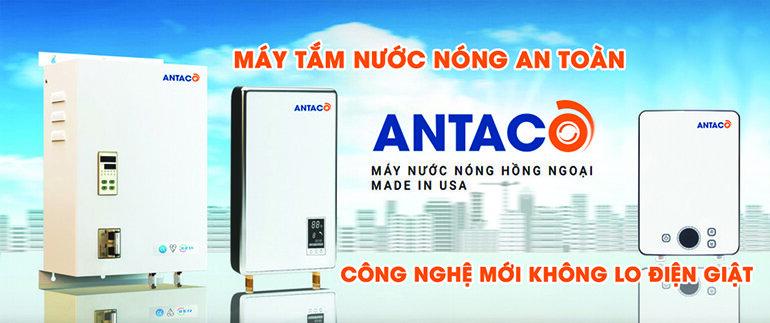 Bình nước nóng Antaco an toàn khi sử dụng