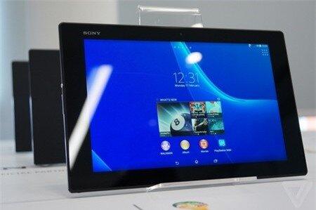 Xperia Z2 Tablet là một trong những máy tính bảng mỏng nhất thế giới hiện nay