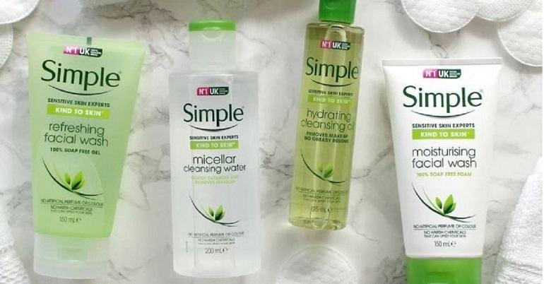 Sữa rửa mặt Simple dùng có tốt không?