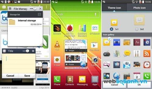LG L90 Dual chạy hệ điều hành đa nhiệm