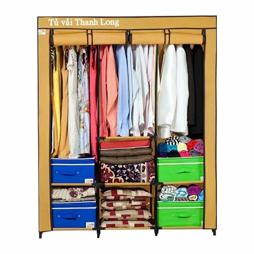 Tủ vải 3 buồng Thanh Long TVAI14