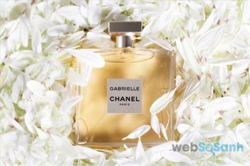 Nước hoa nữ Chanel Gabrielle có thiết kế cổ điển nhưng không kém phần tinh tế