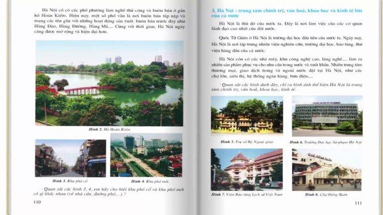 Nội dung của sách lịch sử và địa lý lớp 4