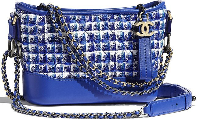 Chanel's Small Tweed Gabrielle Hobo Bag