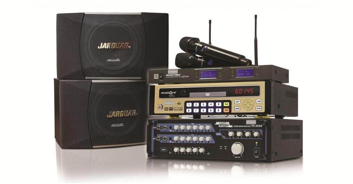 Loa karaoke Vitek KS 926 kết hợp tuyệt vời với dàn karaoke