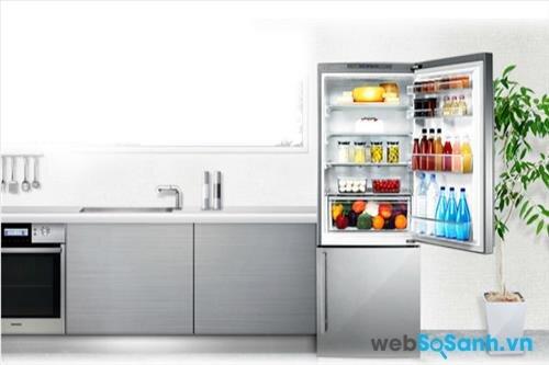 Tủ lạnh Panasonic NR-BU344SN bảo quản hiệu quả với cơ chế làm lạnh đa chiều