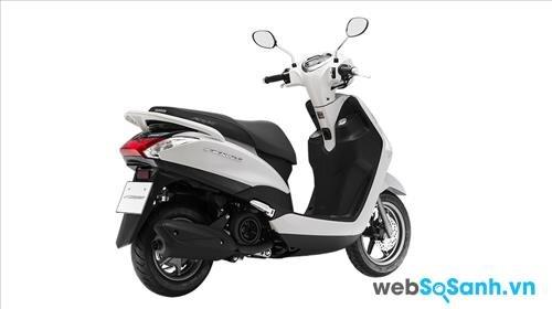 Yamaha Acruzo là chiếc xe tay ga khá tiện dụng