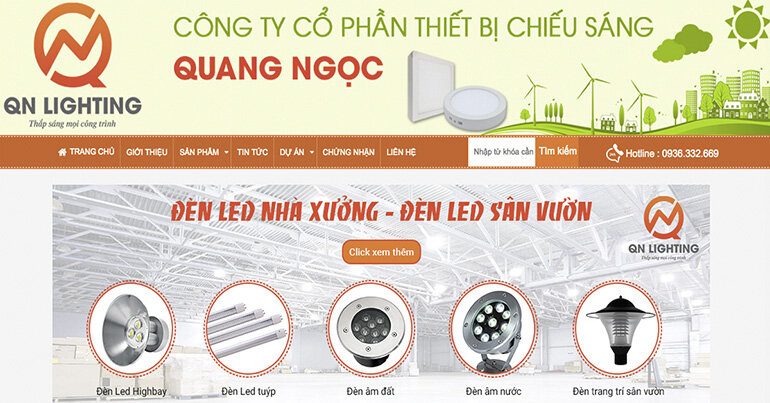 Địa chỉ mua Đèn LED chiếu sáng uy tín ở Hà Nội và Sài Gòn ?
