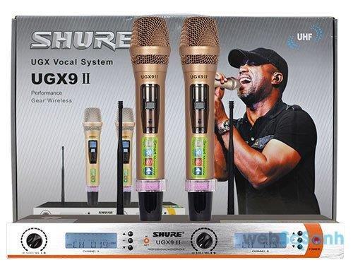 Shure UGX9 II là dòng micro không dây có chất lượng cao