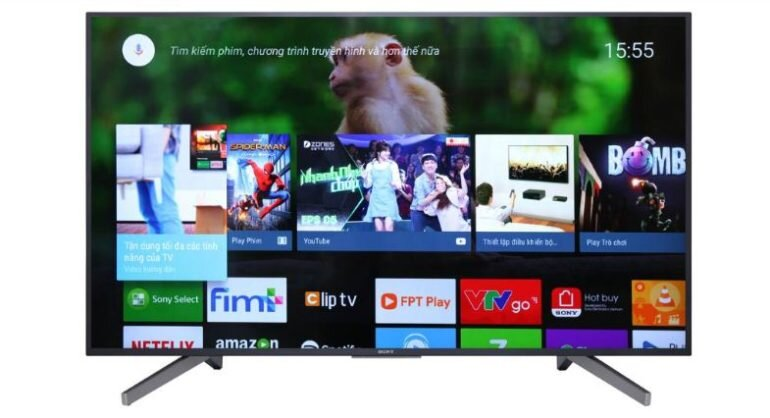 Smart tivi Android Sony 55 inch KD-55X7500F