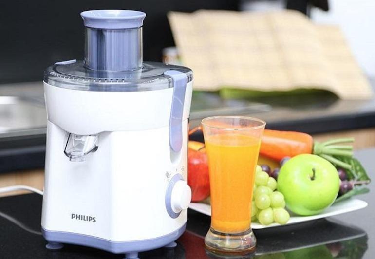 Máy ép trái cây nhỏ gọn Philips HR1811
