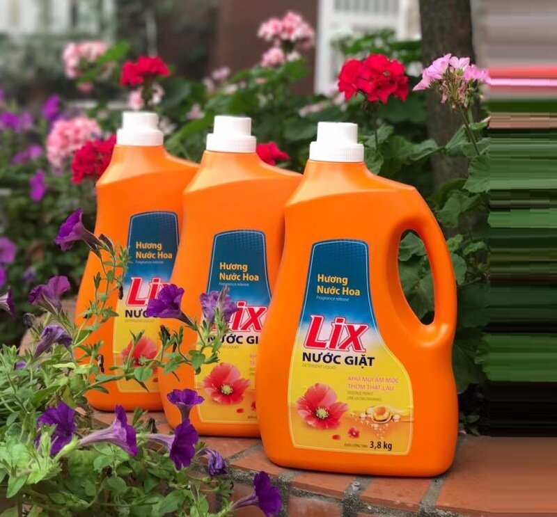 Nước giặt của LIX Đậm Đặc Hương Nước Hoa