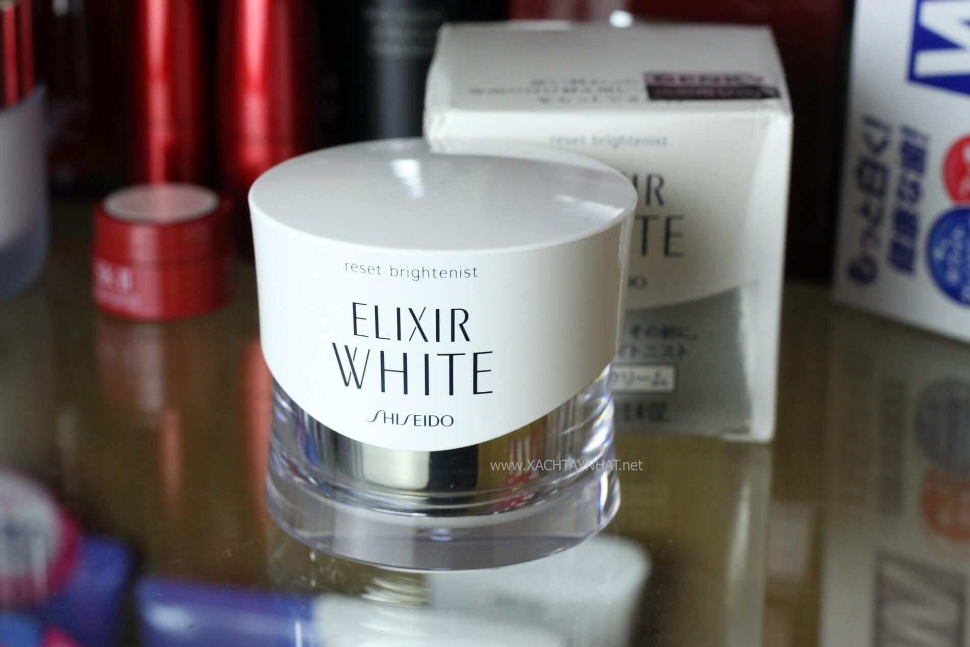 Kem dưỡng trắng da dòng Shiseido Elixir