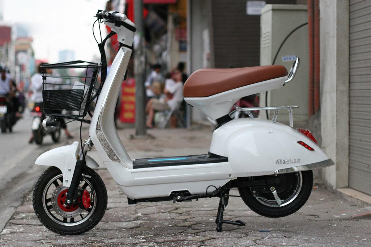 Xe máy điện sở hữu thiết kế thời trang
