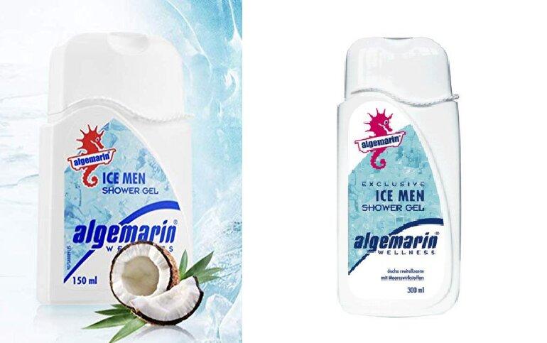 sữa tắm Algemarin Ice-men Shower Gel của Mỹ