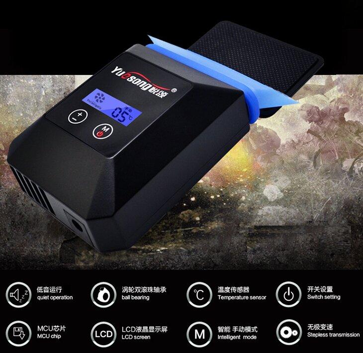 Yuesong v5 là sản phẩm quạt hút tản nhiệt kiểu mới