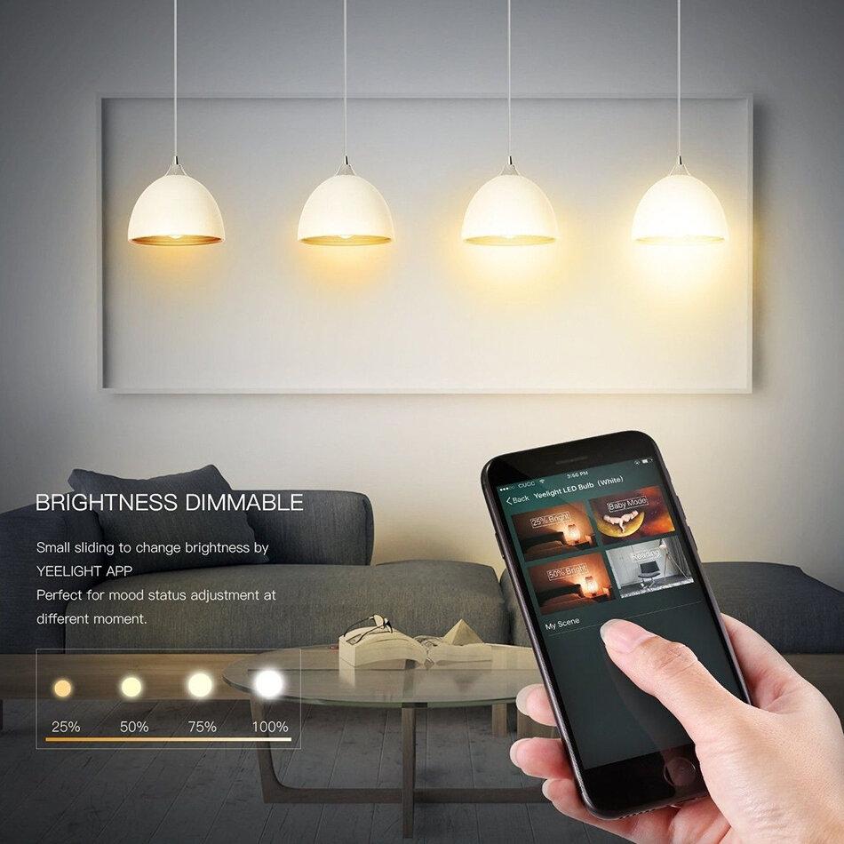 Đèn thông minh của Yelight Xiaomi mang lại trải nghiệm thú vị cho gia đình bạn