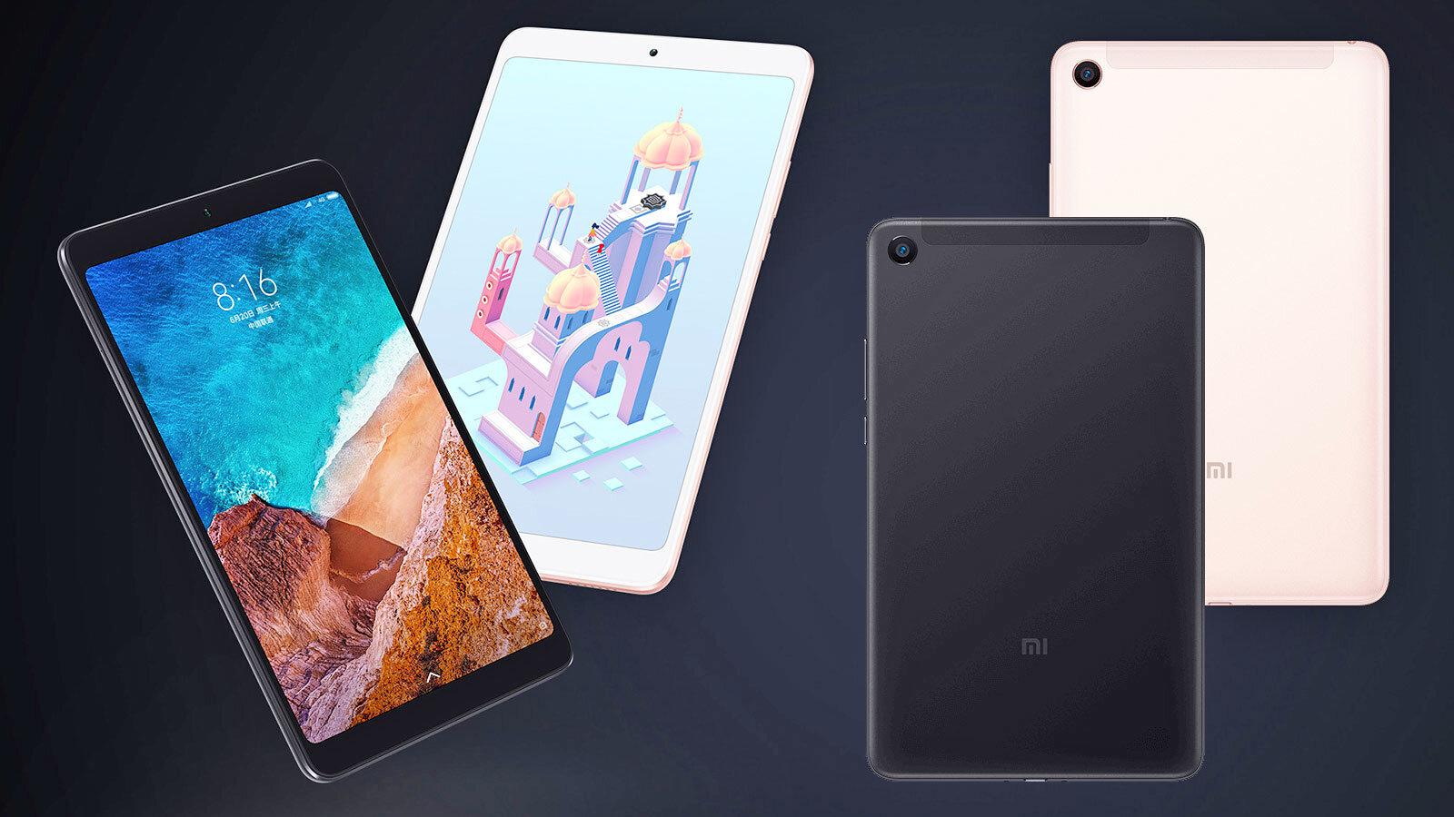 Xiaomi MiPad 4 với nhiều mẫu mã khác nhau