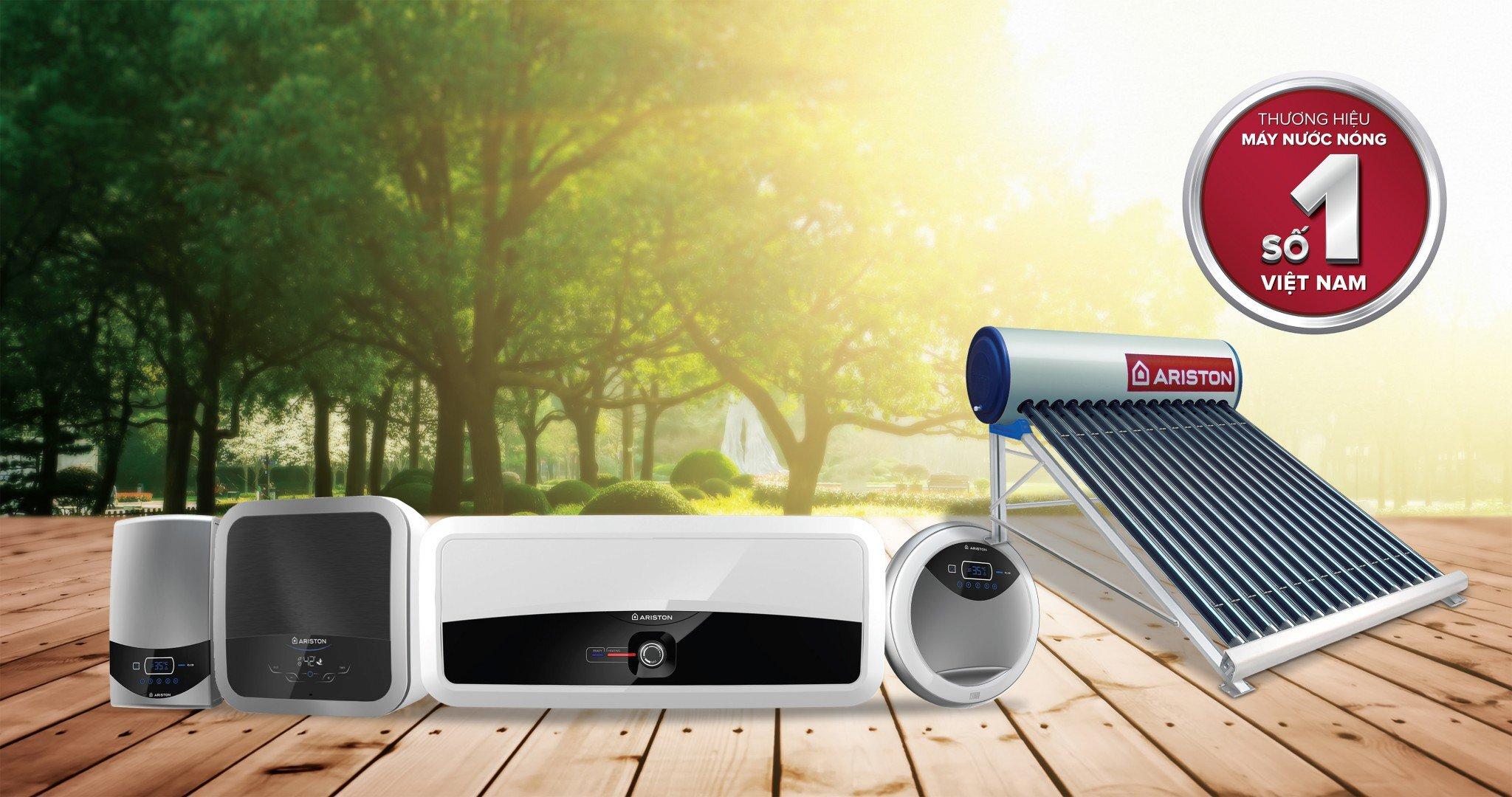 Các dòng sản phẩm máy nước nóng Ariston