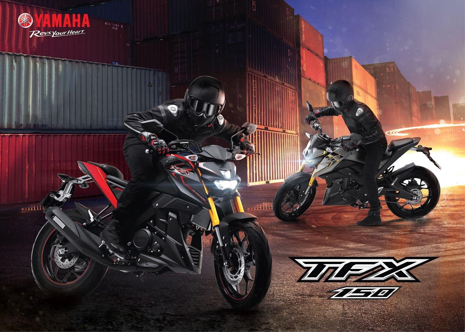 Yamaha TFX 150 phiên bản 2019 sở hữu thiết kế mạnh mẽ, cá tính và năng động