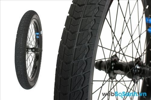 Một dạng bánh xe đạp BMX