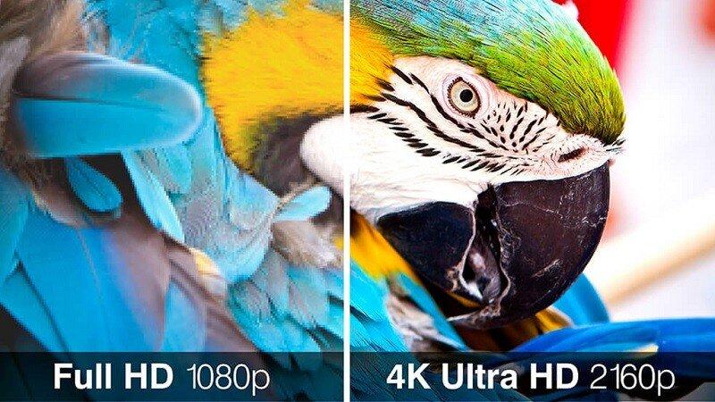 Độ phân giải và kích thước màn hình Tivi cần tương thích với nhau mới cho chất lượng hình ảnh như ý