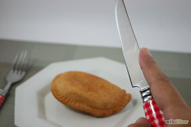 Tư thế cầm dao đúng