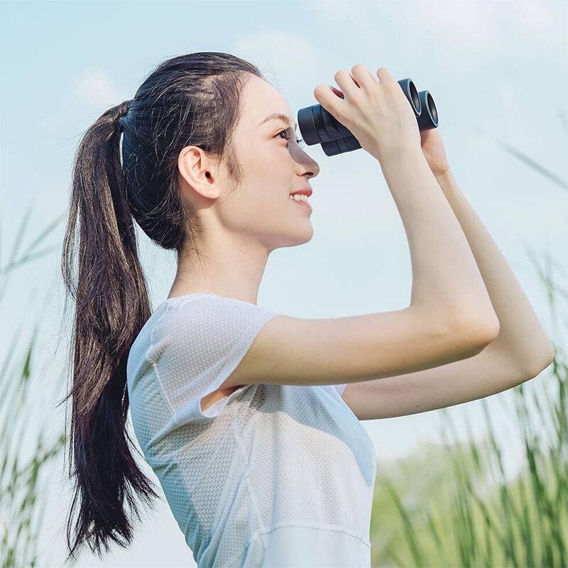 Chỉnh khoảng cách hai ống kính chuẩn với mắt
