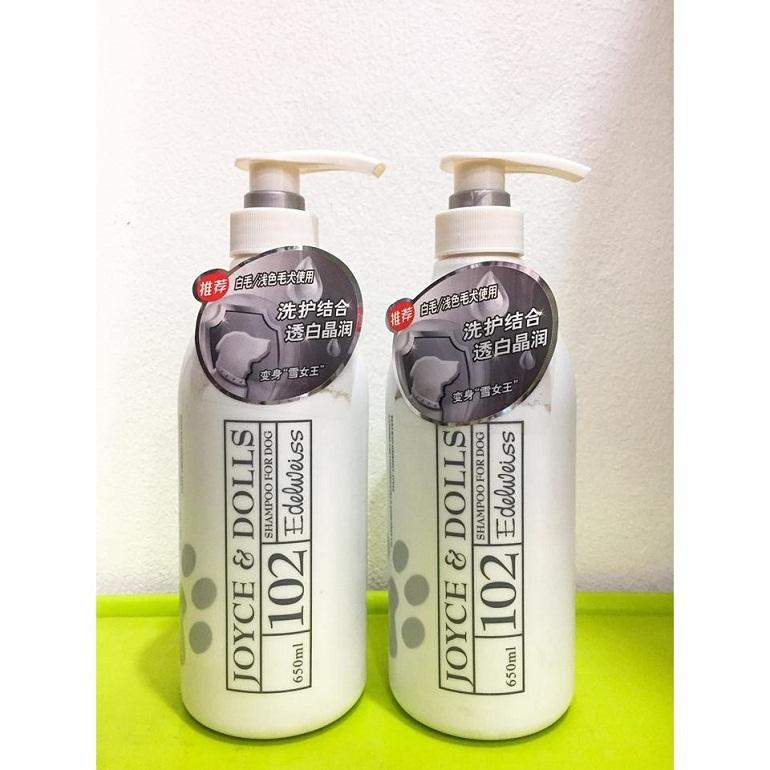 Sữa tắm cho chó lông trắng Joyce & Dolls Edelweiss