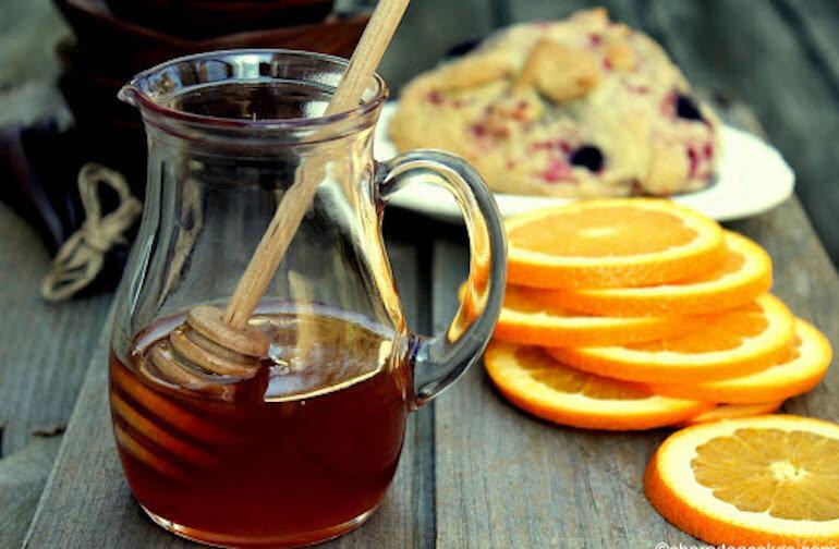 Pha mật ong trà bưởi giảm cân hiệu quả