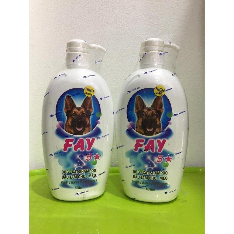 Sữa tắm diệt bọ chét cho mèo Fay 5 sao