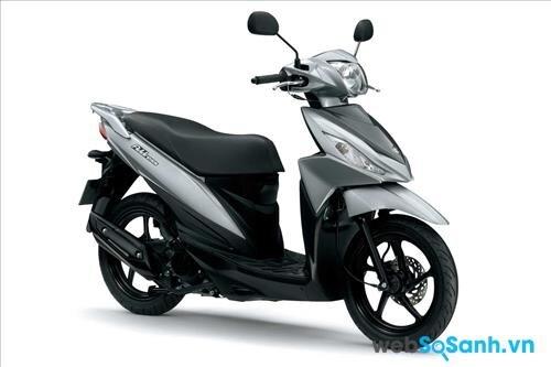 Suzuki Address - chiếc xe tay ga giá rẻ