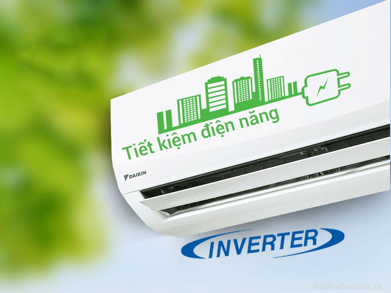 Máy lạnh Inverter sẽ giúp bạn tiết kiệm được nhiều điện năng hơn