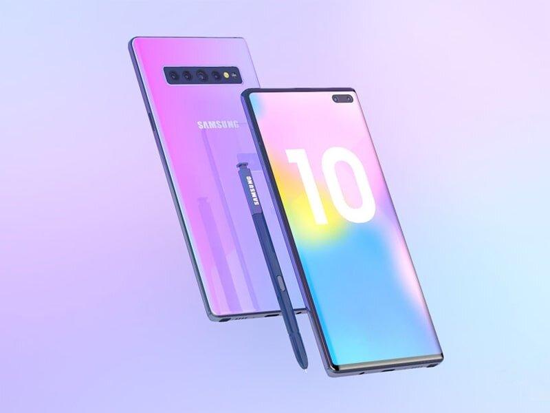 Kiểm tra độ chính hãng của Samsung Galaxy Note 10 còn có thể thực hiện với cảm biến vân tay, nhận diện khuôn mặt hay cảm biến mống mắt