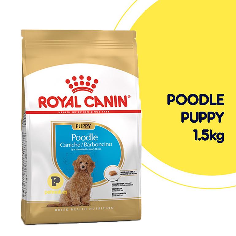 Thức ăn cho chó Royal Canin Poodle Puppy đến từ Pháp