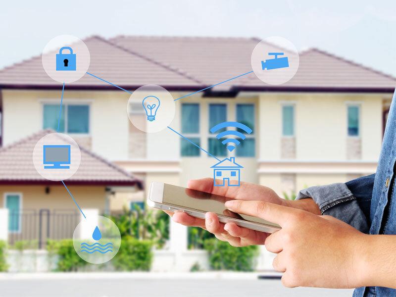 Smarthome với tính năng giúp ngôi nhà được an toàn và bảo mật