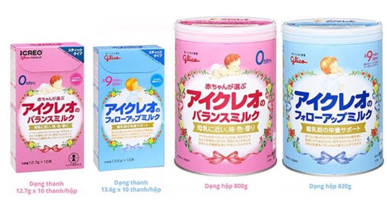 Mua sữa Glico dạng bột sẽ giúp mẹ tiết kiệm được 287.000 vnđ so với dạng thanh - vậy có nên mua không ?