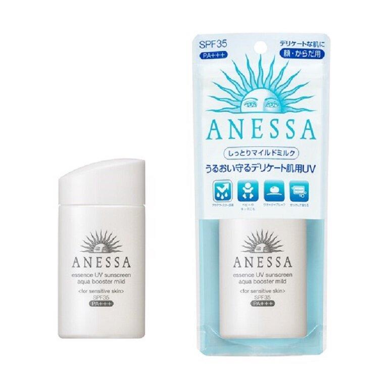 Kem chống nắng Anessa Essence UV sunscreen aqua booster mild SPF35+ PA+++