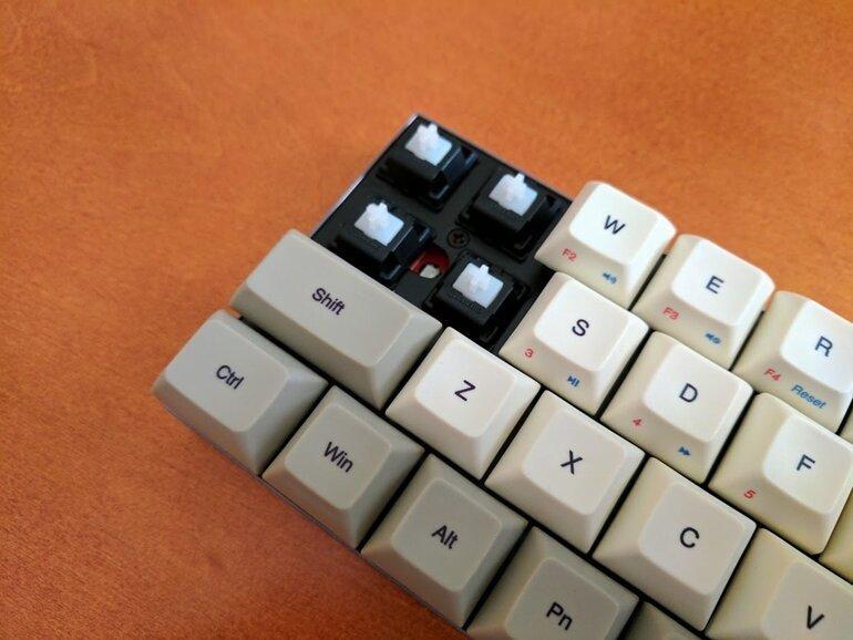 bàn phím cơ vortex core
