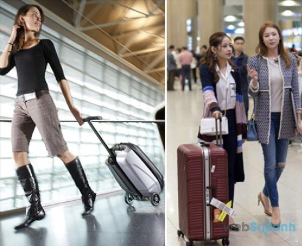 Hướng dẫn chọn size vali kéo chuẩn không cần chỉnh