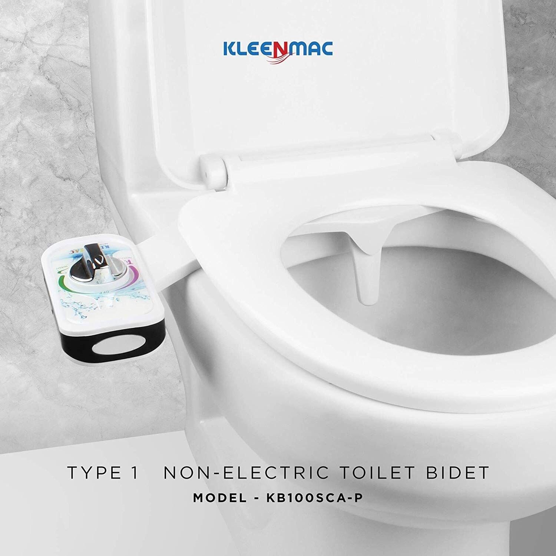 Thiết bị vệ sinh thông minh Kleenmac có cấu tạo đơn giản, dễ lắp ráp