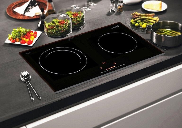 Bếp từ âm có nhiều chức năng nấu hiện đại