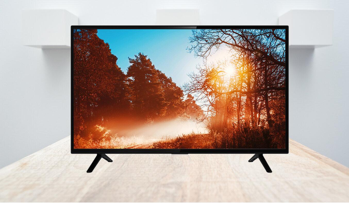 Tivi TCL màn hình 55 inch cho hình ảnh chân thực sống động