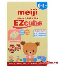 Sữa Meiji Thanh EZcube 432g (1-3 tuổi)