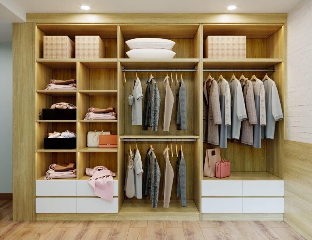 chống mốc tủ quần áo
