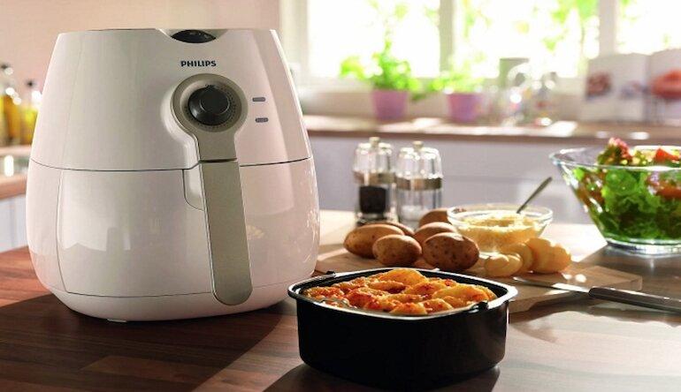 Nấu nướng thực phẩm không ám mùi quần áo, gian bếp